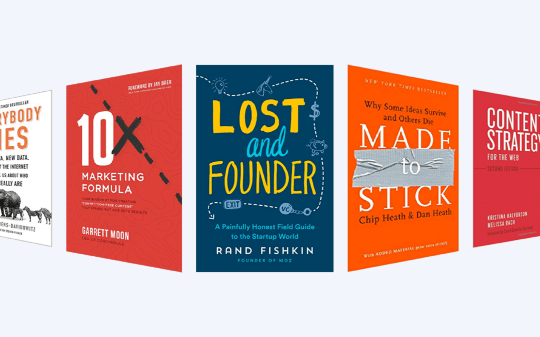 The 5 books to make you a better marketer